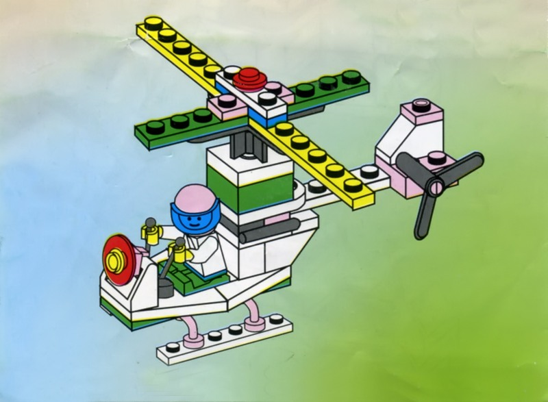 самолет из конструктора инструкция